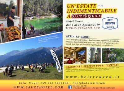 Vacanza in Montagna a Sauze d'Oulx dal 8 al 25 agosto 2019