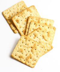 Crackers e grissini