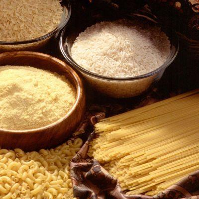 Pasta e riso senza glutine