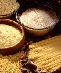 Gluten-free pasta and rice